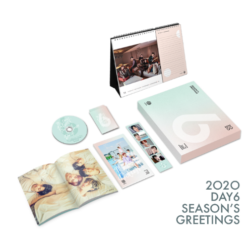 특전/데이식스(DAY6) - 2020 SEASONS GREETINGS