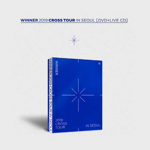 위너 WINNER 2019 CROSS TOUR IN SEOUL[DVD+LIVE CD]