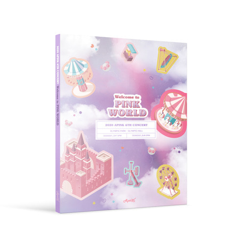 2020 Apink 6th Concert DVD[Welcome to PINK WORLD]