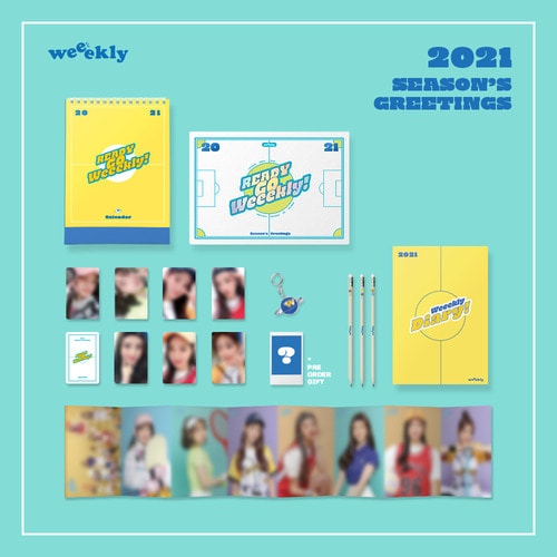 Weeekly(위클리) - 2021 Seasons Greetings : Ready Go Weeekly