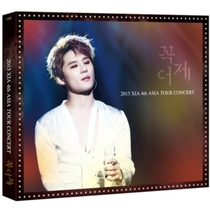 시아 (XIA / JYJ) - 2015 XIA 4TH ASIA TOUR CONCERT 꼭어제 IN YOKOHAMA DVD (한정판)