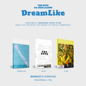 3종세트/ 더보이즈(THE BOYZ) - 미니 4집 [DreamLike] (DREAMLIKE + DIY + DAY Ver.)