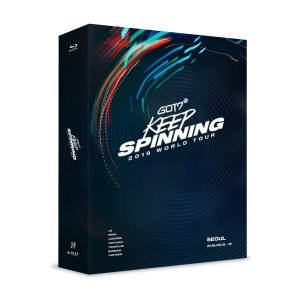갓세븐 GOT7 2019 WORLD TOUR KEEP SPINNING SEOUL BLU-RAY