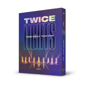 포스터+지관통ㅣ트와이스 TWICE WORLD TOUR 2019 TWICELIGHTS IN SEOUL BLU-RAY