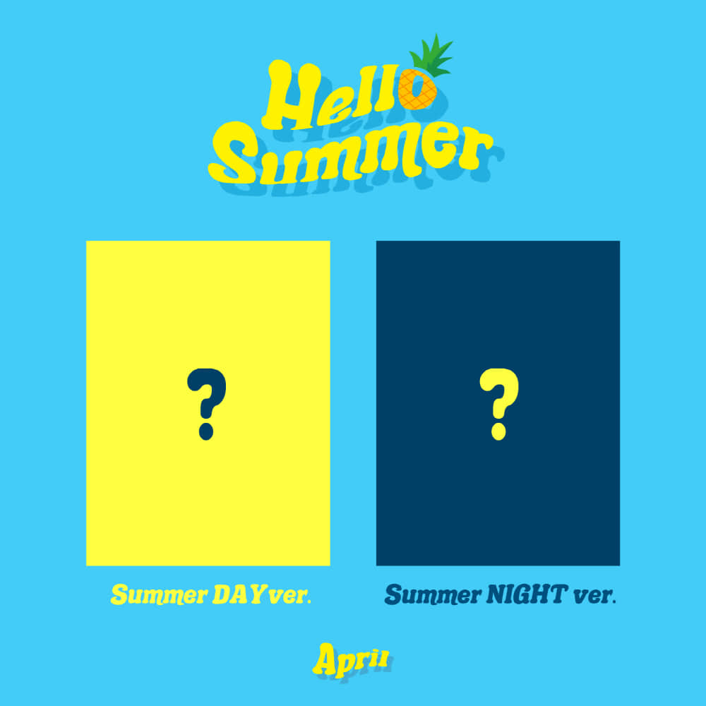 에이프릴 (APRIL) - Summer Special Album [Hello Summer]/버전세트