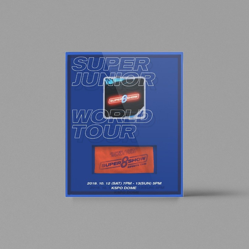 SUPER JUNIOR (슈퍼주니어) WORLD TOUR - [SUPER SHOW 8 : INFINITE TIME] 키트비디오