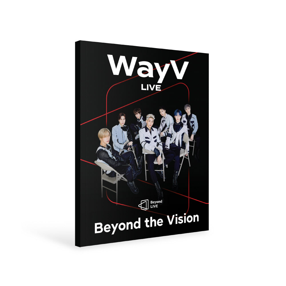 WayV(웨이션브이) - Beyond LIVE BROCHURE [Beyond the Vision] 사진집
