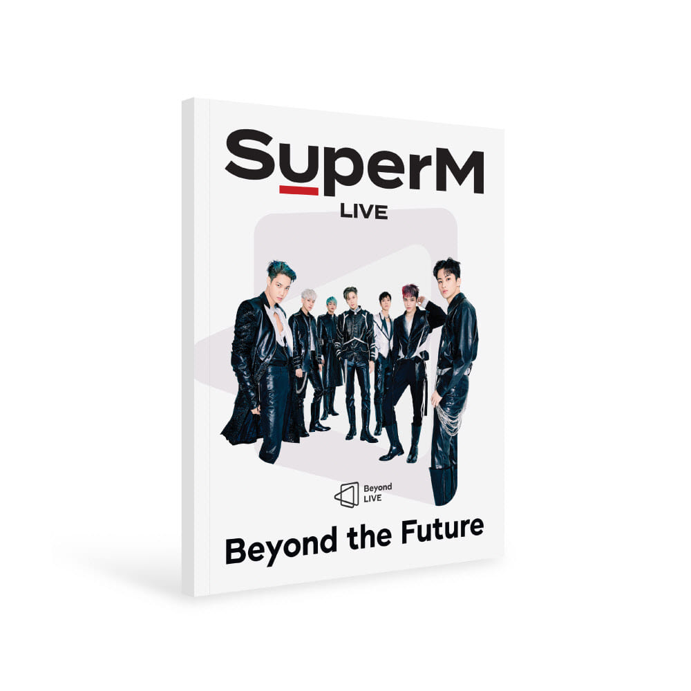 SuperM(슈퍼엠) - Beyond LIVE BROCHURE [Beyond the Future] 사진집