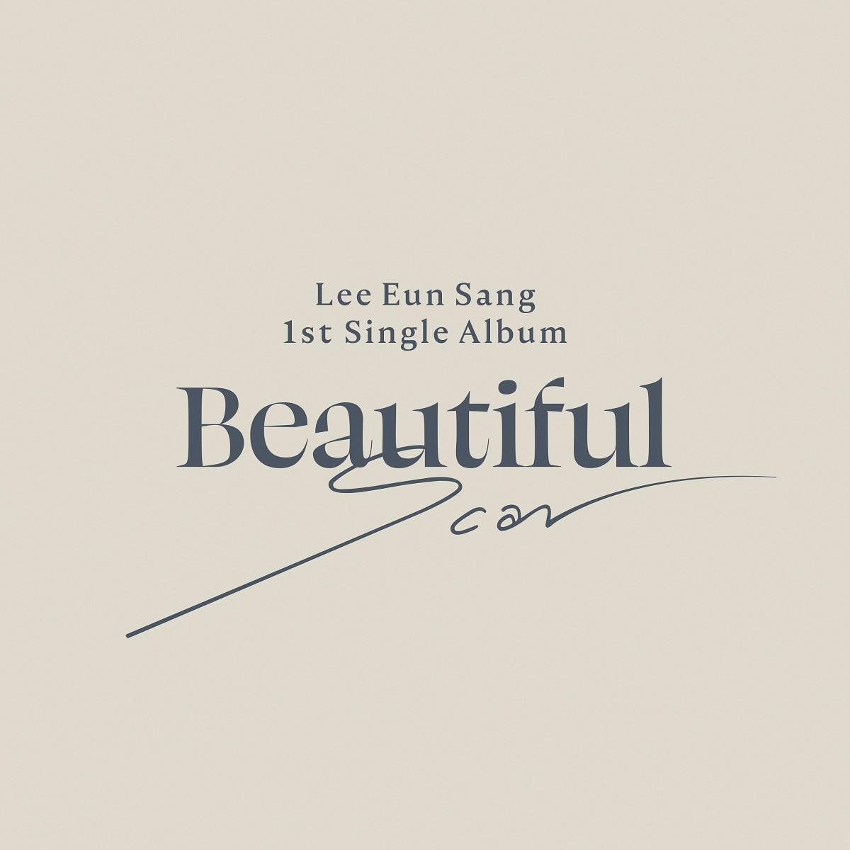 Beautiful ver.ㅣ이은상 - BEAUTIFUL SCAR (1ST 싱글앨범)