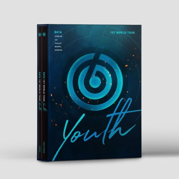 데이식스 - DAY6 1ST WORLD TOUR [Youth] DVD