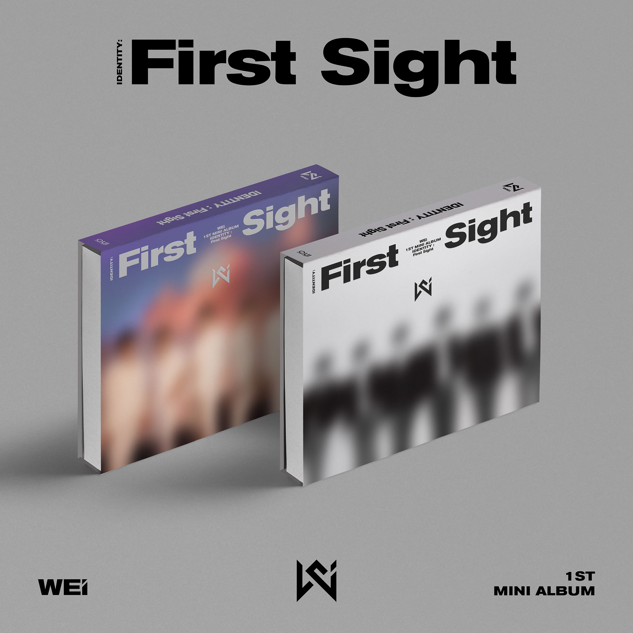 위아이(WEi) - 미니앨범 1집 [IDENTITY : First Sight] (i Ver.+ WE Ver.) 세트