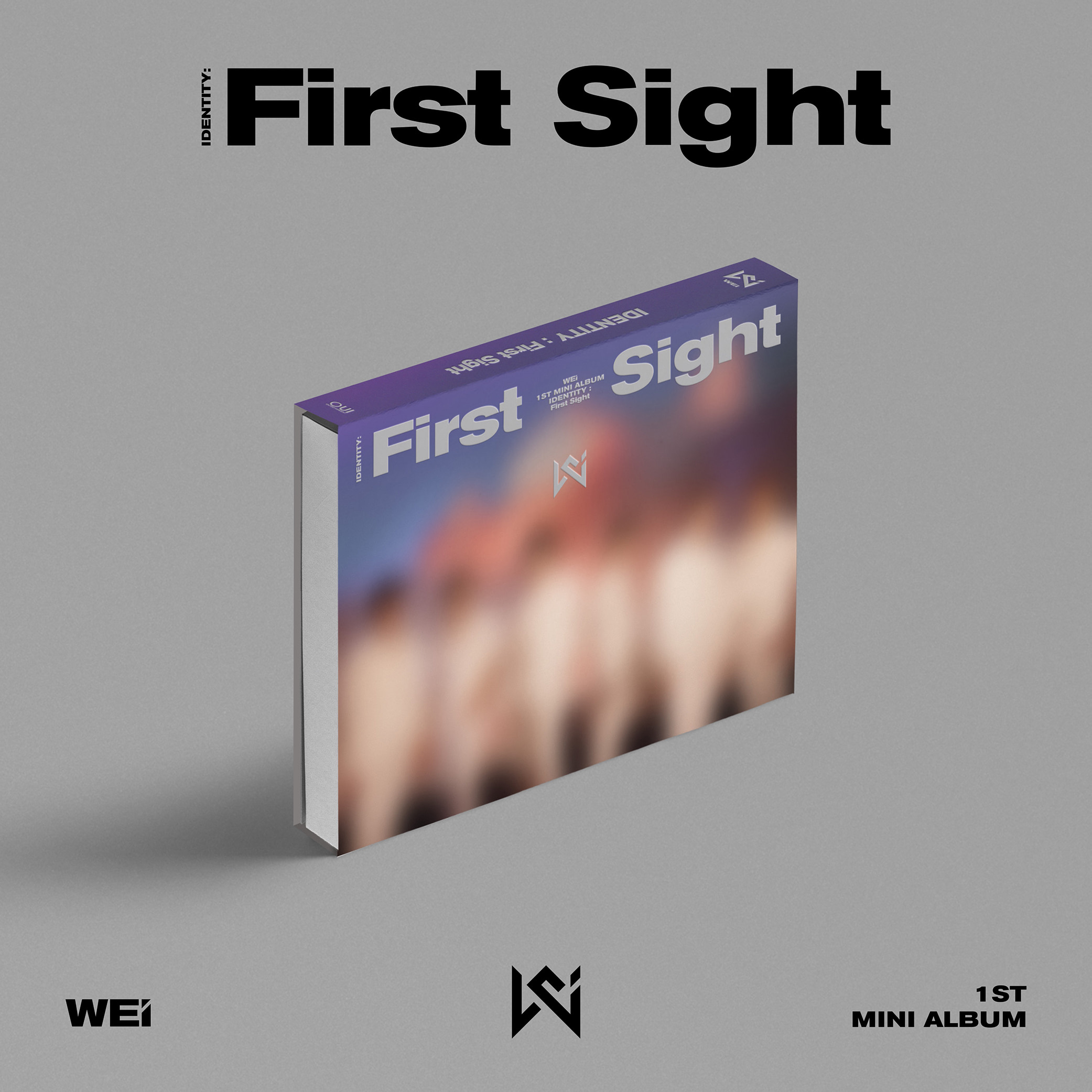 위아이(WEi) - 미니앨범 1집 [IDENTITY : First Sight] (WE Ver.)